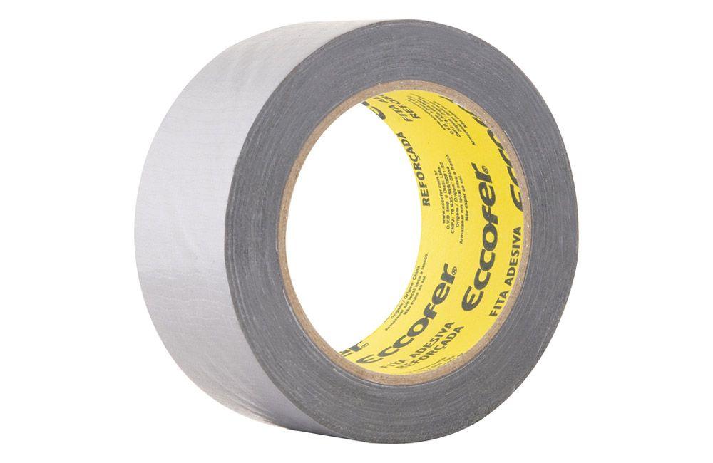 Fita Adesiva Silver Tape 50 mm x 25 metros