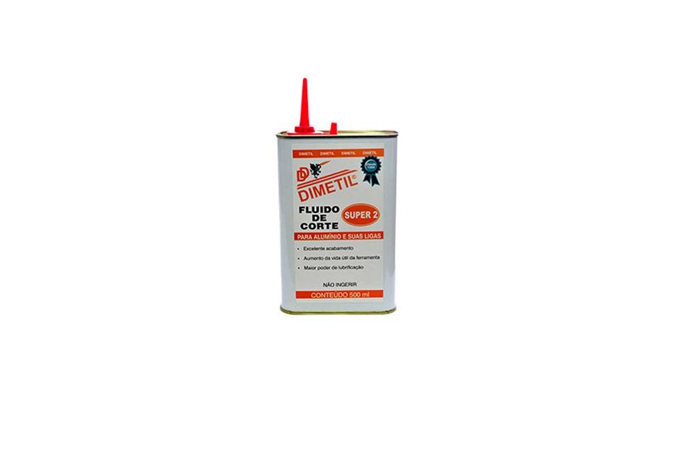 Fluído de Corte para Alumínio e suas Ligas 500 ml Super 2 - Dimetil
