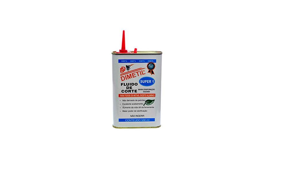 Fluido de Corte para Metais Super 1 500 ml - Dimetil
