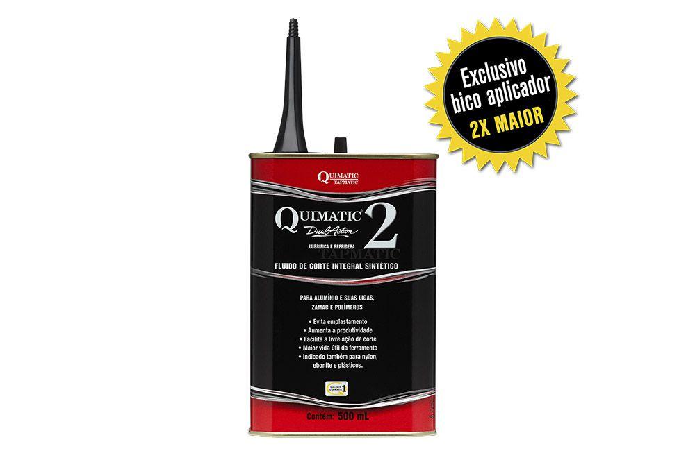 Fluído para Corte de Alumínio QUIMATIC 2 - 500 ml - QUIMATIC