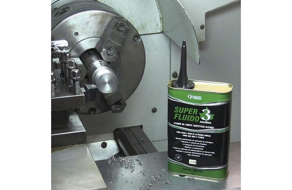 Fluído para Corte de Metais Duros - QUIMATIC 3 SUPER FLUIDO - 500 ml - QUIMATIC TAPMATIC