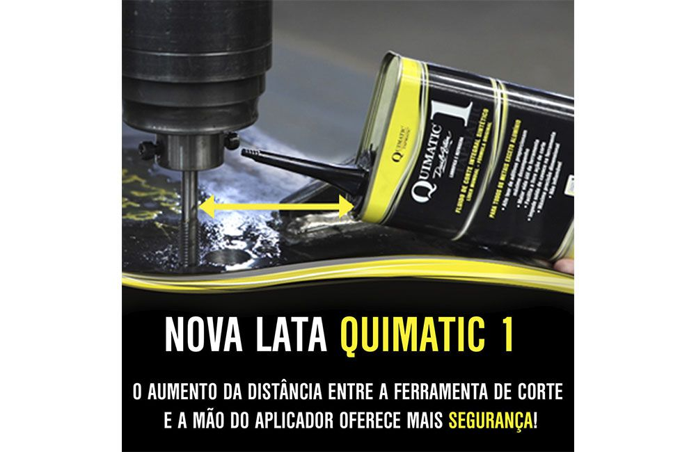 Fluído para Corte de Metais QUIMATIC 1 - 500 ml - QUIMATIC TAPMATIC