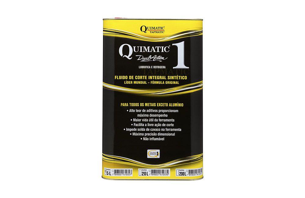 Fluído para Corte de Metais QUIMATIC 1 de 5 Litros - QUIMATIC TAPMATIC