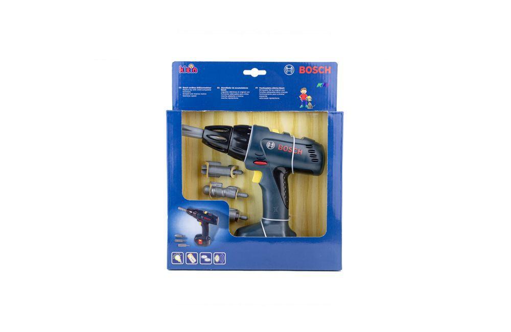 Furadeira de Impacto GSB1200-2-LI 110V + Kit Acessórios 34pçs + Parafusadeira de Brinquedo - Bosch
