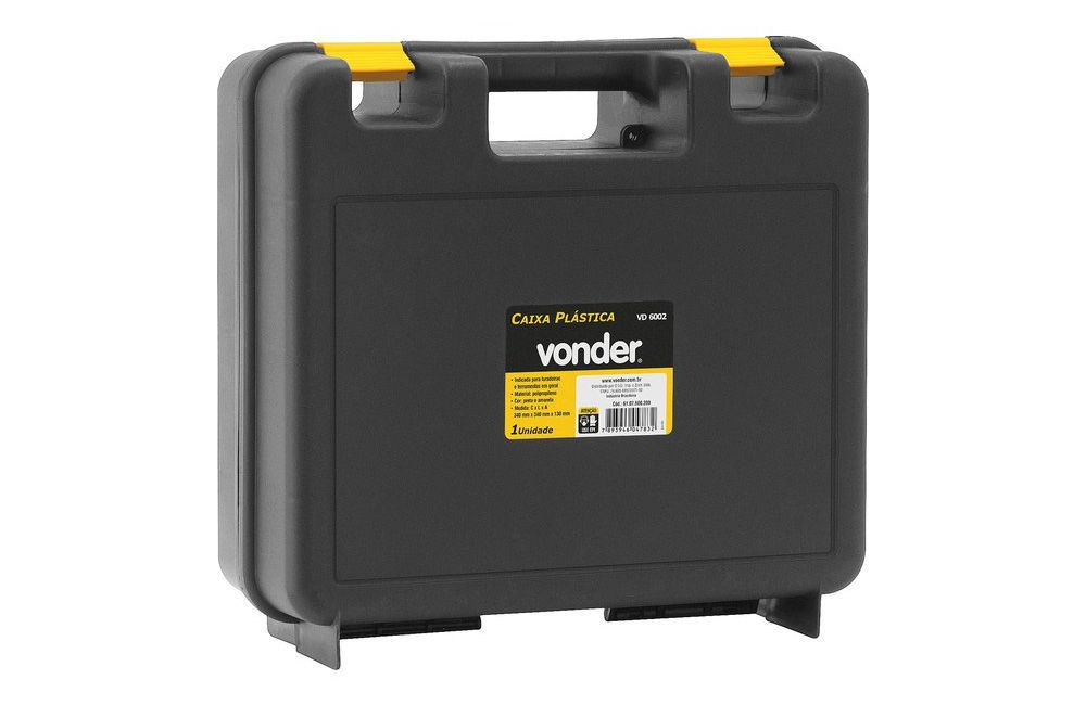 Furadeira/Parafusadeira 3/8 280W Reversível FPV-300 + Maleta Plástica - Vonder