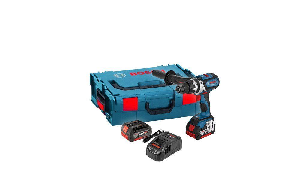 """Furadeira / Parafusadeira de Impacto de 1/2"""" à Bateria de 18V 4 Amperes GSB18VE-EC 19F 110V - Bosch"""