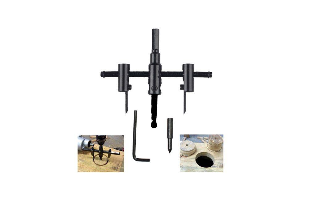Furador ajustável circular 30-120mm F000111 - IPIRANGA