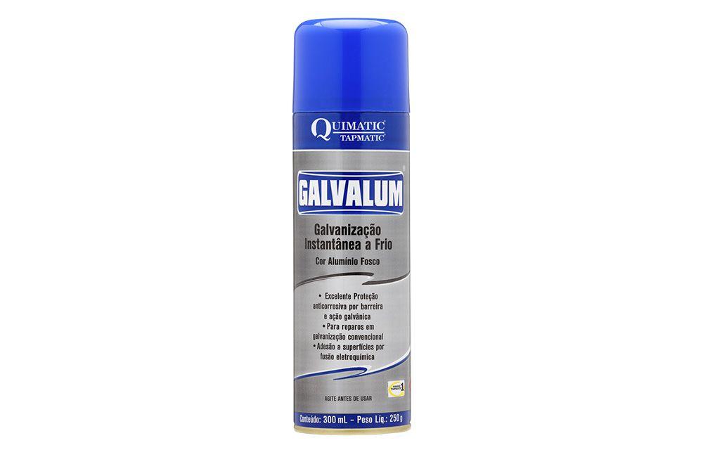 Galvanização Aluminizada a Frio Galvalum Spray 300 ml - QUIMATIC TAPMATIC