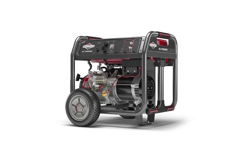 Gerador a Gasolina de 8 a 10 KVA com Partida Elétrica Elite 8000 - Briggs
