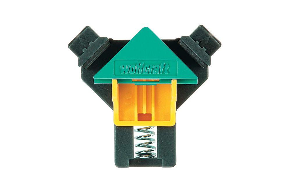 Grampo Angular Plástico 90 Graus 10 a 22 mm 3415000 - Wolfcraft