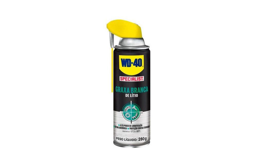 Graxa Branca de Litium 400 ml Spray - WD-40