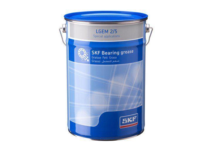 Graxa de Alta Viscosidade com Lubrificantes Sólidos LGEM 2/5 Balde 5 Kgs - SKF