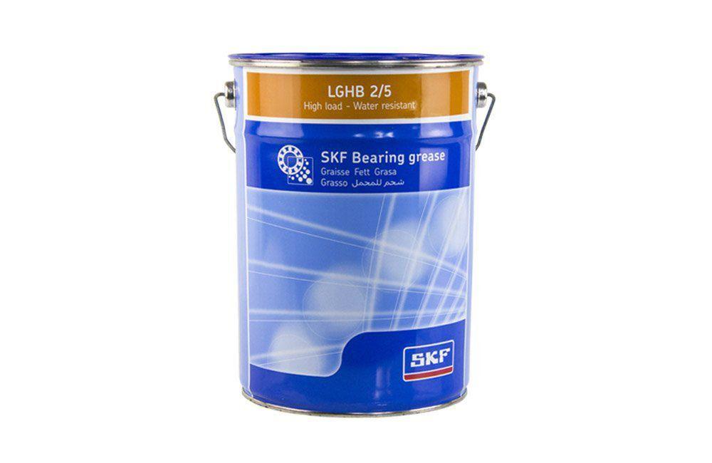 Graxa de Alta Viscosidade para Carga Elevada e Alta Temperatura LGHB 2/5 Lata de 5 Kgs - SKF