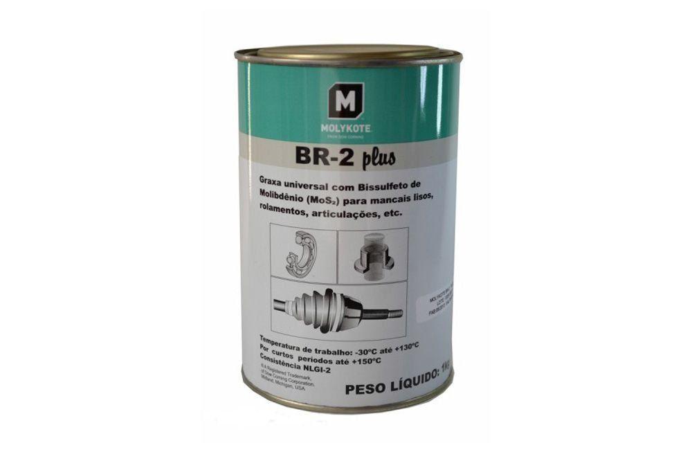 Graxa Multiuso BR2-Plus 1Kg - Molykote
