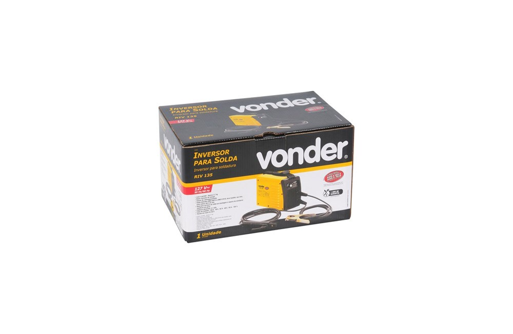 Inversor de Solda RIV135 130A' 110V - Vonder