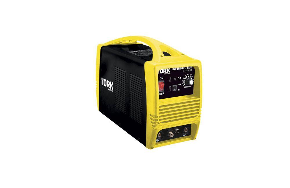 Inversora de Solda para Eletrodo TIG e Plasma 180A 3 em 1 220V IETP9180 - Super Tork