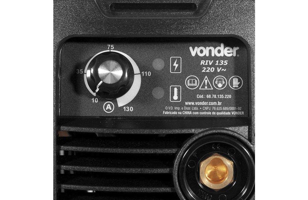 Inversora / Retifica de Solda 130A 220V RIV-135