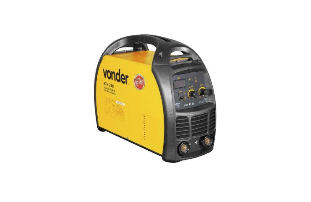 Inversora Retifica de Solda Digital 250A RIV250 220V - Vonder