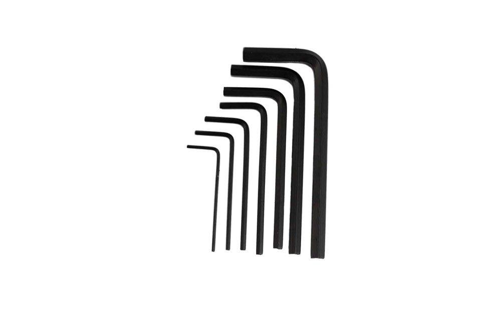Jogo de Chave Allen Curta de 1,5 a 6 mm com 7 peças 220403 - Belzer