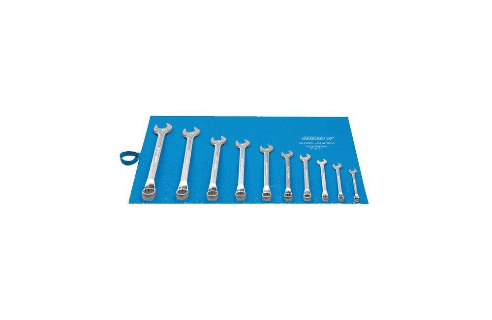 Jogo de Chaves Combinadas de 6 a 22 mm com 10 peças 1B-10M - Gedore