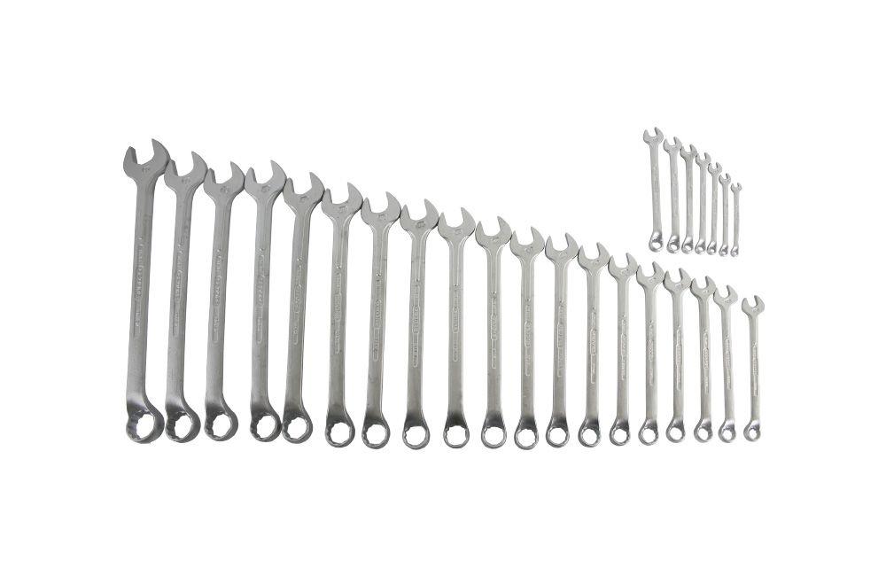 Jogo de Chaves Combinadas de 6 a 32 mm com 26 Chaves 1B/26M