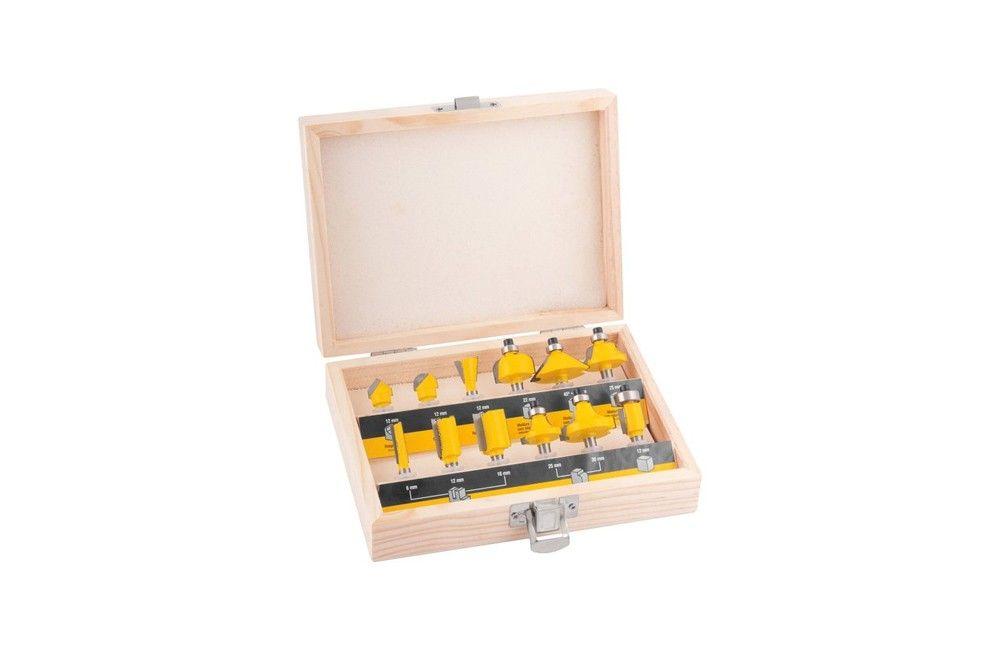 Jogo de Fresas com 12 Peças de 6-32MM - Vonder
