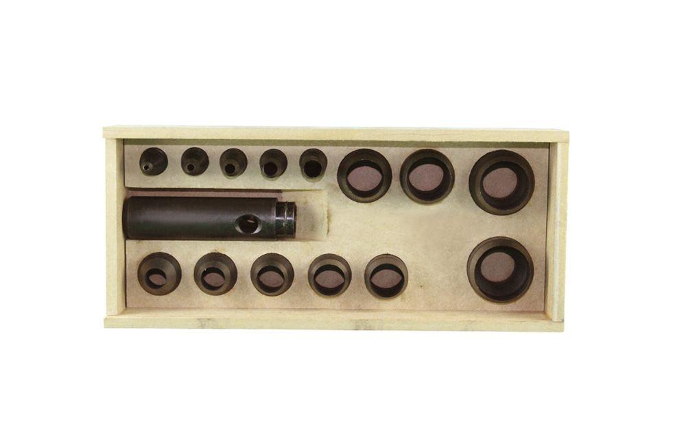 Jogo de Vazador de 3 a 32 mm com 14 peças Número 5 - Rex