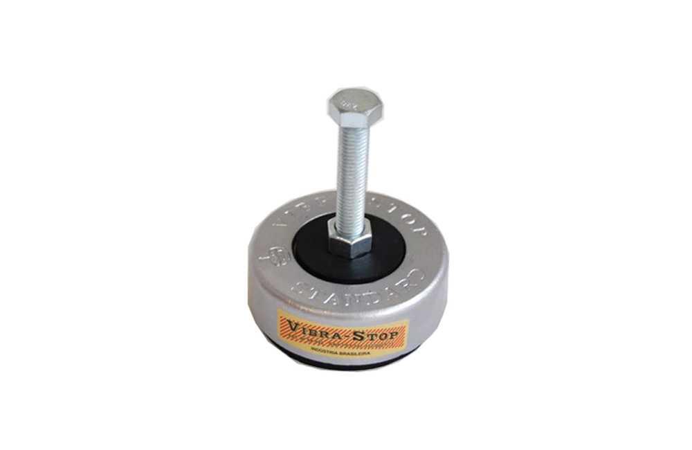 "Jogo de Vibra-Stop de 3/8"" com 4 peças Mini 500 Kgs - Vibra Stop"