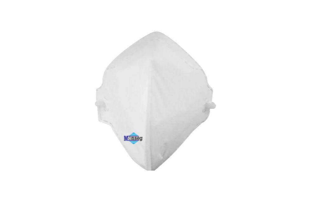 Kit 20 Máscaras Respiratórias sem Filtro PFF1 N90 Descartável - MONSEG