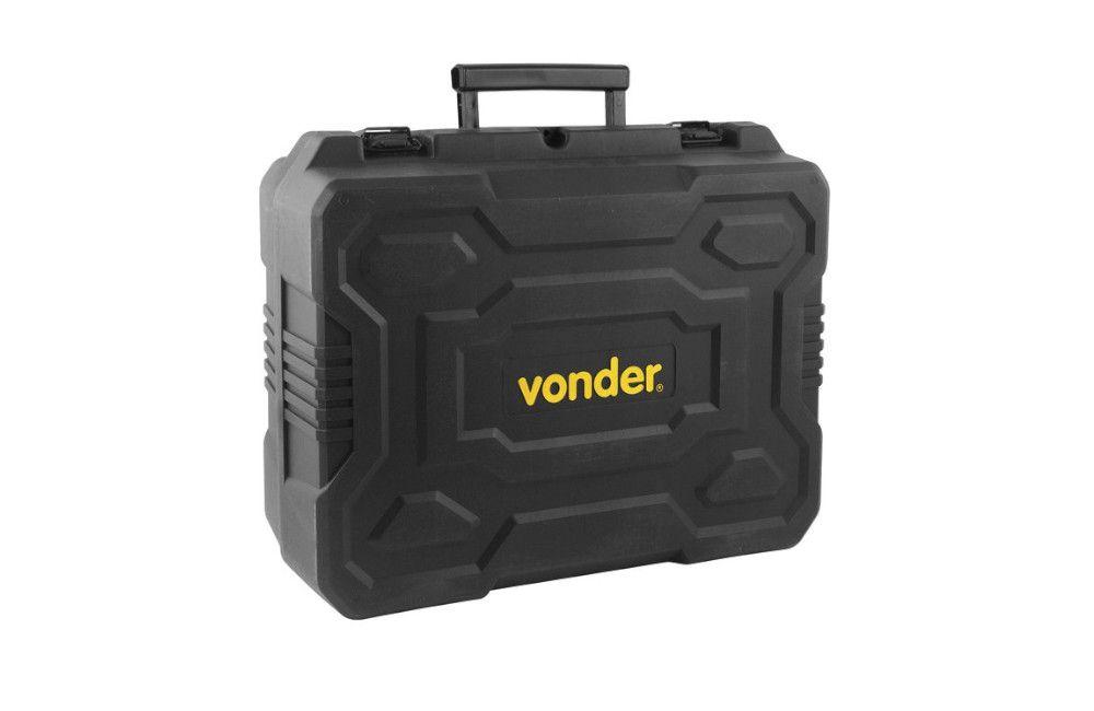 Kit Martelete E Esmerilhadeira 18v + 2 Baterias 4AH E Carregador - Vonder