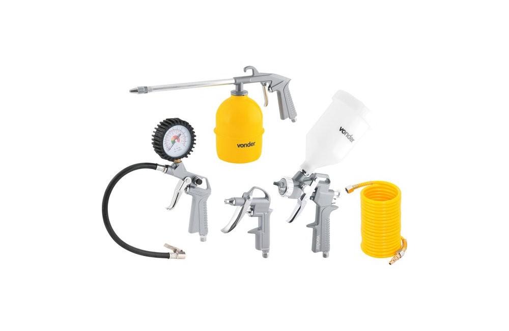 Kit para Compressor 5 Peças Motopress ACV 500 - VONDER