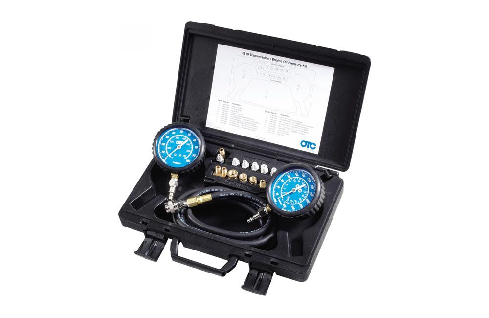 Kit para Testar Pressão do Óleo do Motor e Transmissão OTC 5610