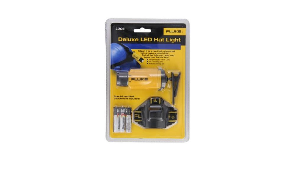 Lanterna Deluxe para Capacete L206 - Fluke