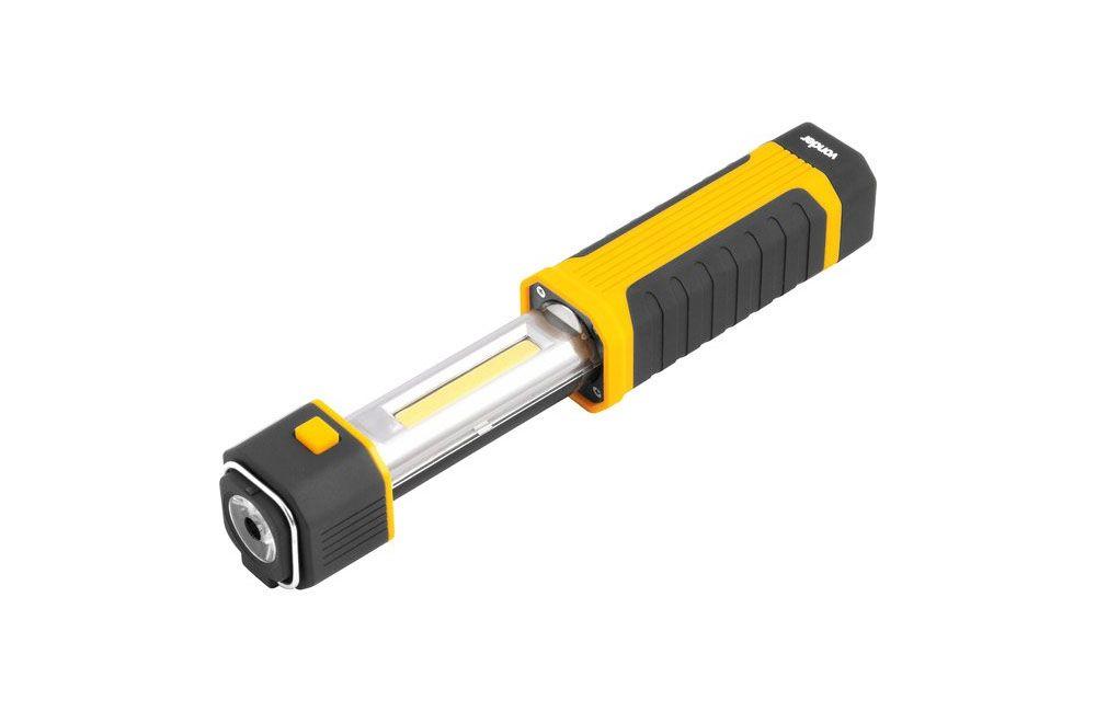 Lanterna LED 2 Em 1 Retrátil Magnética LLV201 - VONDER