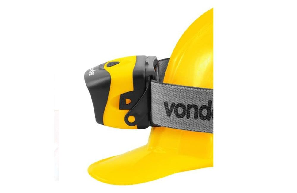 Lanterna para cabeça Led Cob LCV 120 - Vonder