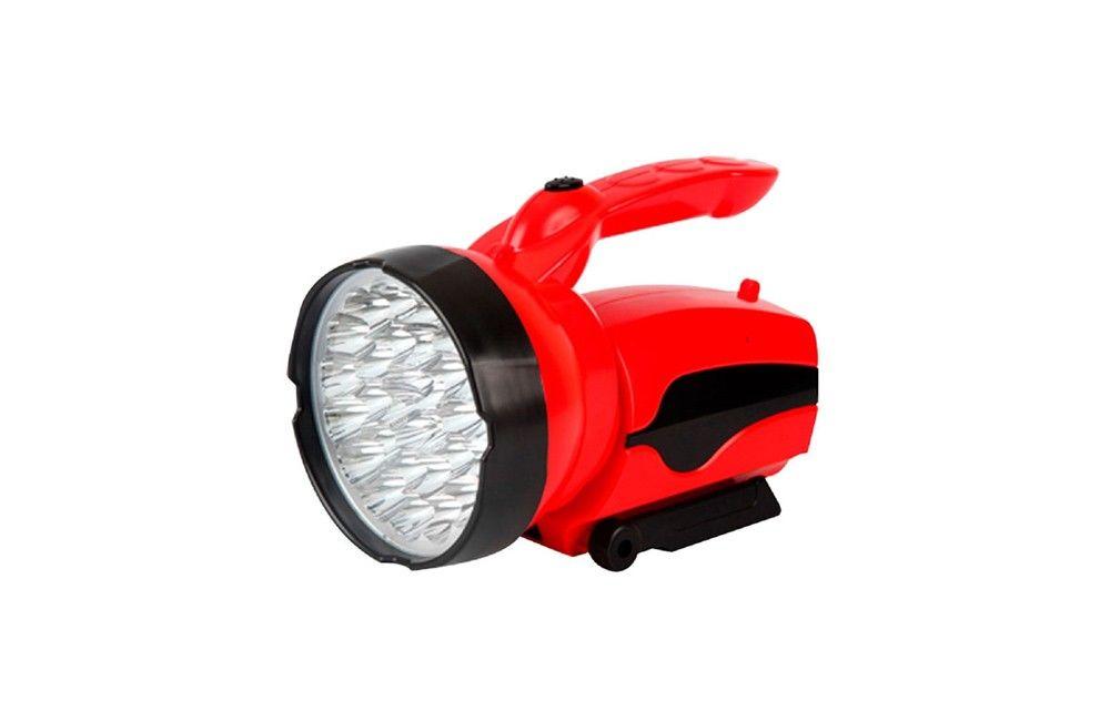 Lanterna Recarregável 2 Estágios 30 LEDS Bivolt com Empunhadura 7323 - Brasfort