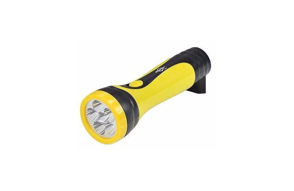Lanterna Recarregável 2 Estágios 6 LEDS Bivolt Reta 7321 - Brasfort