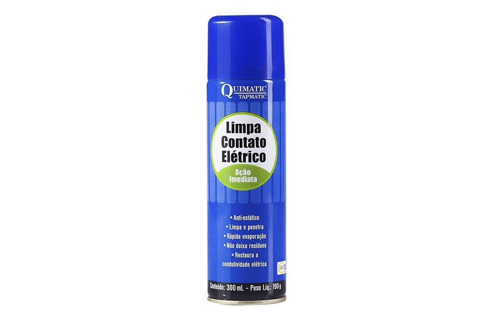 Limpa Contato Elétrico de Ação Imediata Spray 300 ml - QUIMATIC TAPMATIC