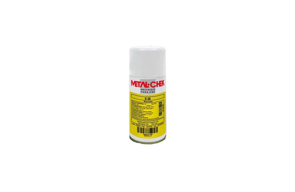 Liquido Removedor Branco de 230 gramas E-59 - Metal Chek