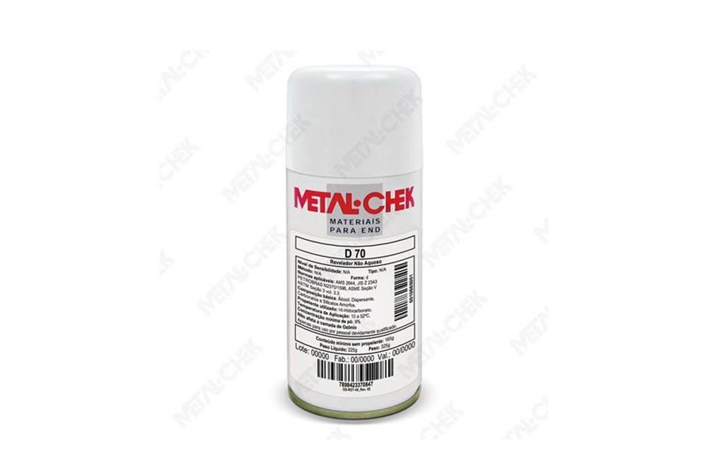 Líquido Revelador Não Aquoso D-70HI - Metal Chek