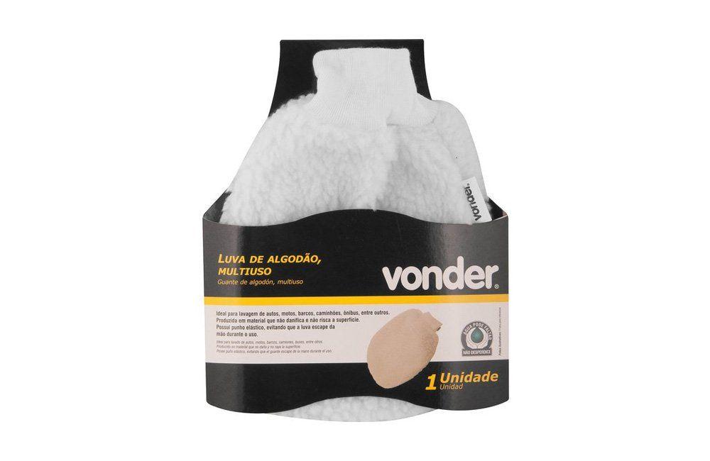 Luva de algodão Multiuso limpa Automóvel - Vonder