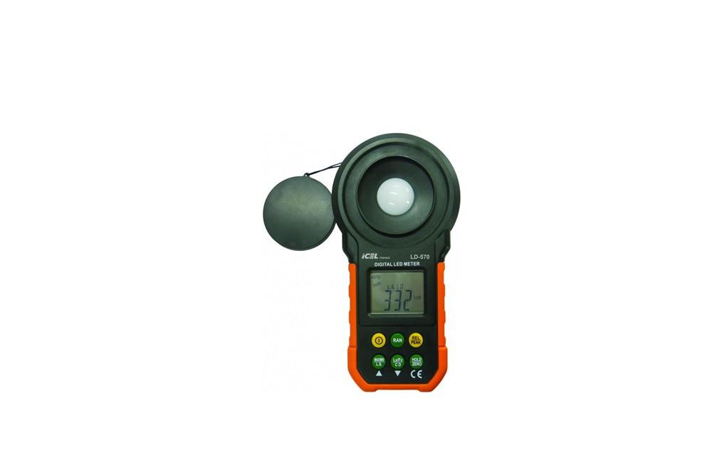 Luxímetro Digital com Medição para LED LD-570 - Icel