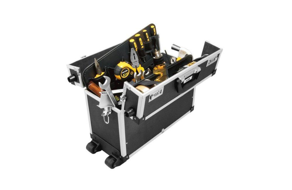Maleta para Ferramentas com 17 Divisórias e Roda 45X25X32 MFV961 - Vonder