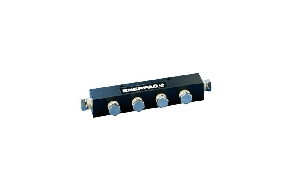 Manifold para Óleo Longo 178 mm com 7 Vias A64 - Enerpac