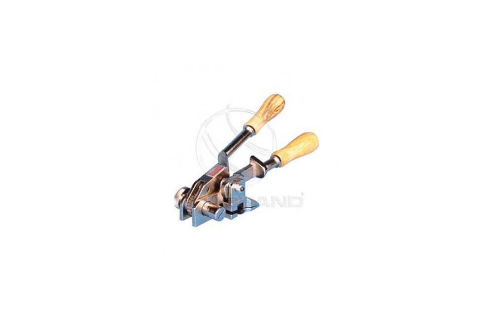 Máquina para Cintar e Cortar Fita de Inox B-01 - Brasband