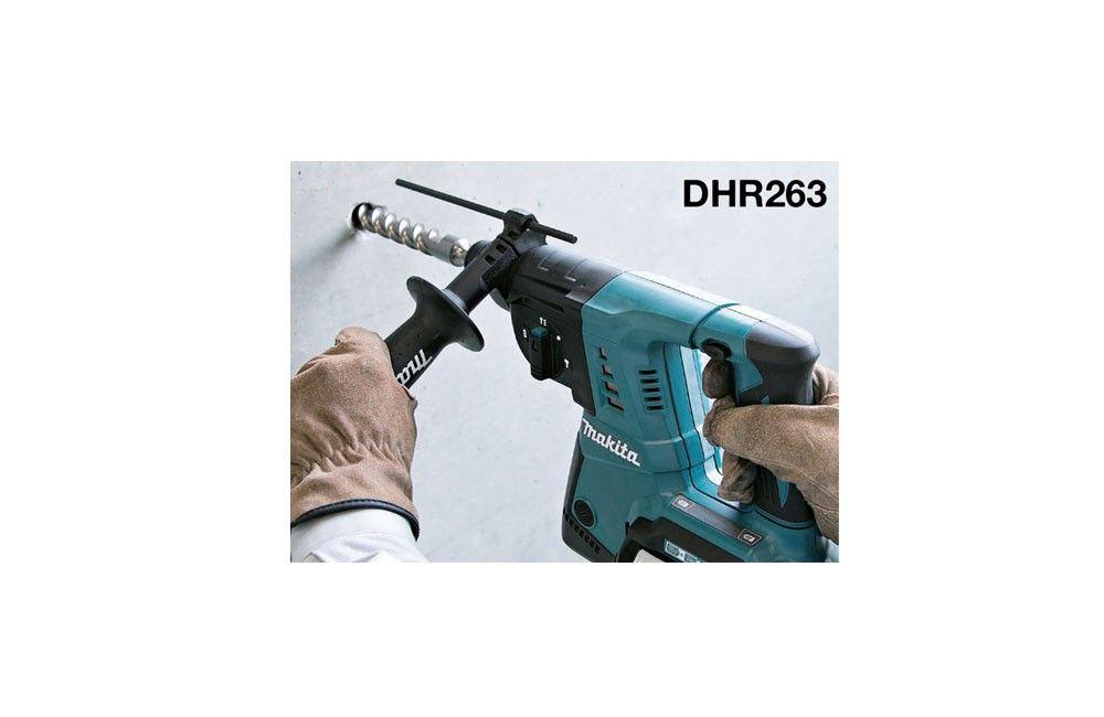 Martelete Perfurador e Rompedor a Bateria DHR263Z sem Bateria e Carregador - Makita