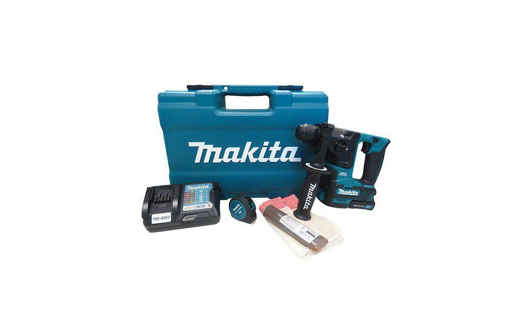 Martelete Rotativo Perfurador à Bateria de 12V com Acessórios HR166DWAX1 Bivolt - Makita