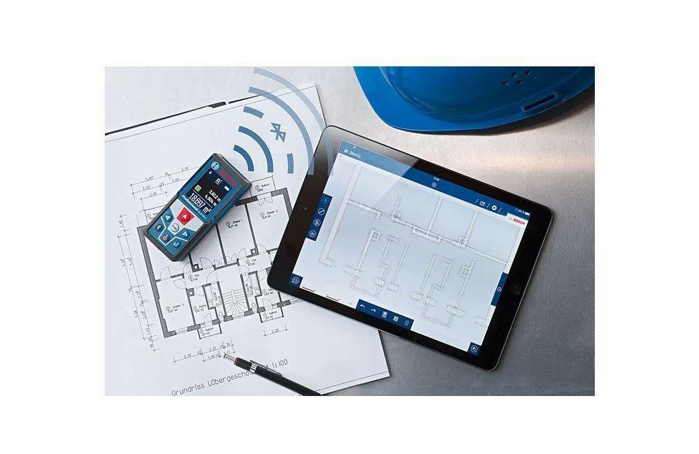 Medidor de Distância / Trena a Laser Bluetooth GLM50C 50 Metros - Bosch