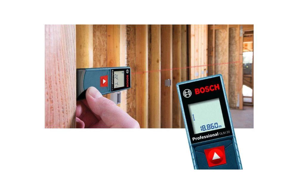 Medidor de Distância / Trena a Laser GLM20 20 metros - Bosch