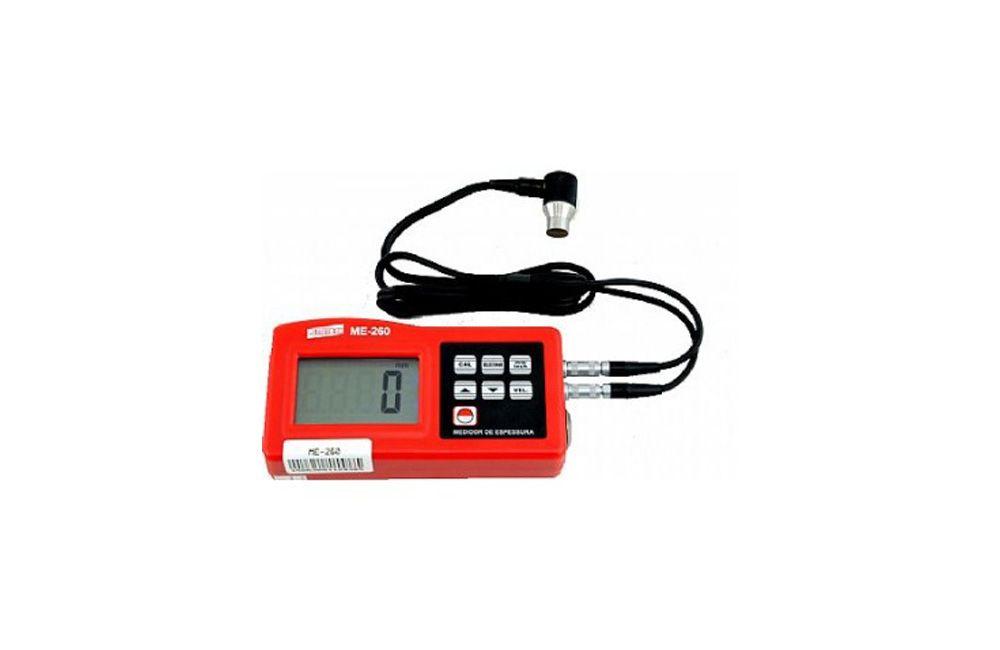 Medidor de Espessura de Chapas Digital com Ultrasom ME-260